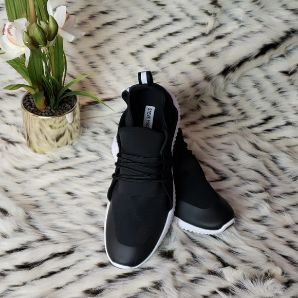 Steve Madden Getcha Black Fashion Shoes